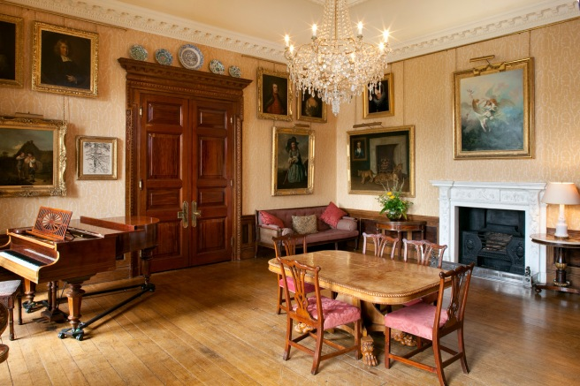 The Music Room, West Dean College copyright Heritage House Group